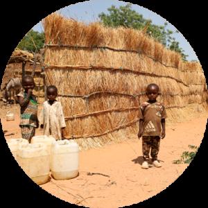 Menores en situación de riesgo en Chad