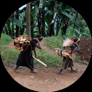 Menores en situación de riesgo en el Congo